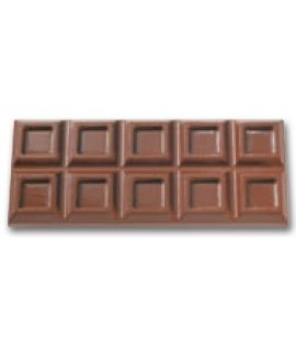MOLDE TABLETA CHOCOLATE 248x102 H=18mm.1und.500gr