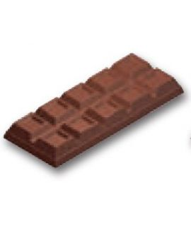 MOLDE TABLETA CHOCOLATE 243x98 H=27mm.500gr