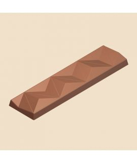 MOLDE TABLETA CHOCOLATE 135x36 H=10mm. 6x1und.39gr