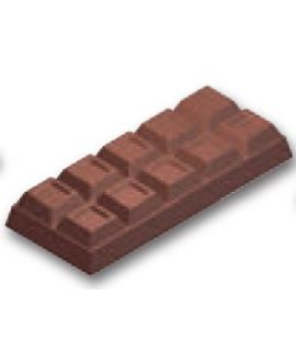 MOLDE TABLETA CHOCOLATE 267x113 H=39mm.1und.1000gr