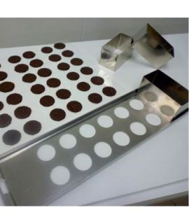 KIT FABRICACION DISCOS DE CHOCOLATE