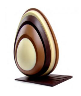 MOLDE PVC HUEVO CHOCOLATE MODELO KT71 200mm