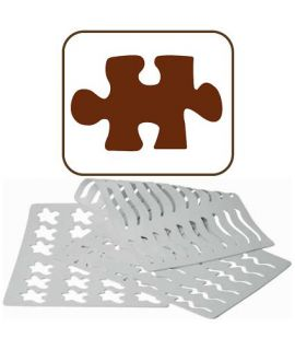 PLANT. GOMA PUZZLE CHASIL 5 (50x78mm)