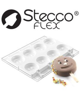 HELADOS MOL. 'STECCO Mr.FUNNI 2PCS' D=83 H=22,5mm+50 PAL.