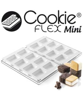 HELADOS MOL. 'COOKIEFLEX MINI-DOUBLE 2PCS' 70,5x48,5 H=20,5mm