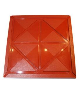 MOLDE TABLETA CHOCOLATE LABERINTO 100x100 H=7,3mm.2x1und.80gr