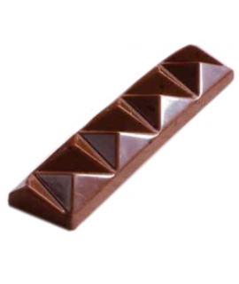 MOLDE TABLETA CHOCOLATE 123x27 H=12mm.4x2und.30gr