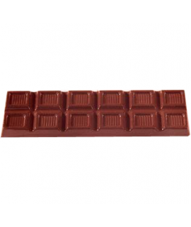 MOLDE TABLETA CHOCOLATE 112x30 H=7mm. 4x2und. 25gr