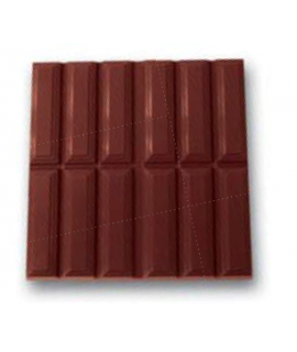 MOLDE TABLETA CHOCOLATE RIGATA 95X95 H=9mm. (2x1und.)80gr