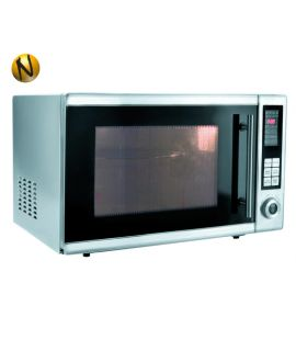 MICROONDAS HORNO 900 W 30lts. INOXIDABLE INTERIOR