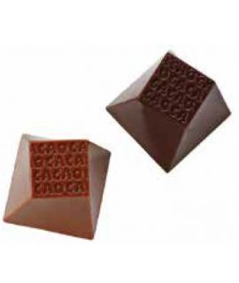 MOLDE CUBO CACAO 25x25 H=25mm(35und)12gr