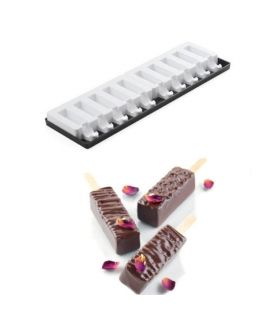 MOLDE 'MINI BAR 2PCS' 60x20 H=20mm + 50 PALOS