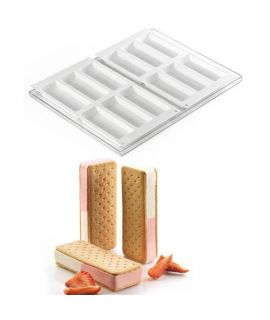 MOLDE 'COOKIEFLEX SLIM 2PCS' 120x45 H=20mm.