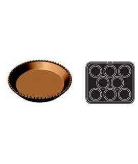 PLACA COOKMATIC '6' TART.RIZ. Ø98/78 H 15mm (8und)