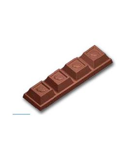 MOLDE TABLETA CHOCOLATE 92x25 H=13mm (7x1und.) 24gr