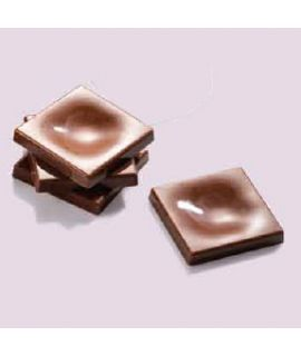 MOLDE TABLETA MINI CHOCOLATE 31x31 H=4,5mm.24und.4gr
