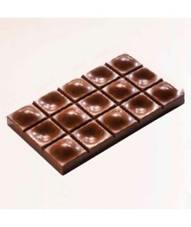 MOLDE TABLETA CHOCOLATE 117x71 H=13mm.3x1und.80gr
