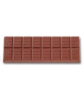 MOLDE TABLETA CHOCOLATE 150x54 H=10mm.4und.85gr