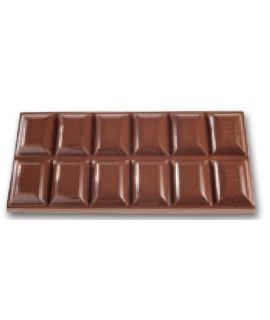 MOLDE TABLETA CHOCOLATE 156x71 H=11mm. 3x1und.100gr