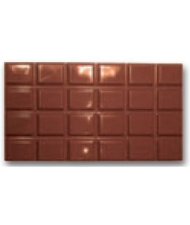 MOLDE TABLETA CHOCOLATE 158,7x82,5 H=9,8mm. (3x1und.) 130gr