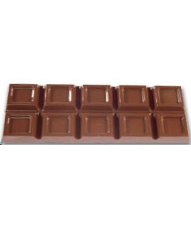 MOLDE TABLETA CHOCOLATE 235x78 H=14mm.2x1und.200gr