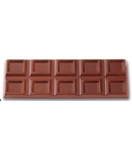 MOLDE TABLETA CHOCOLATE 233x76 H=14mm.2x1und.250gr