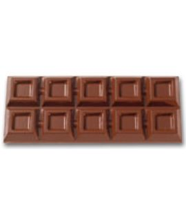 MOLDE TABLETA CHOCOLATE 247x109 H=21mm.1x1und.400gr