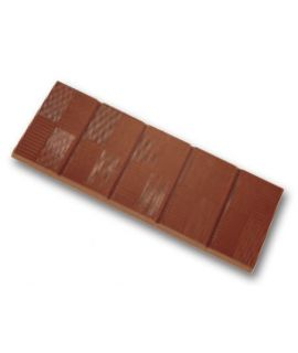 MOLDE TABLETA CHOCOLATE 110x40 H=6mm.25gr