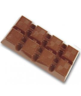 MOLDE TABLETA CHOCOLATE 95x52 H=10mm. 3x2und.45gr