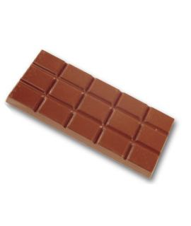 MOLDE TABLETA CHOCOLATE 117x49 H=8mm. 3x2und. 50gr