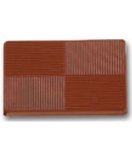 MOLDE TABLETA CHOCOLATE 55x35 H=5mm.4x4und.12gr