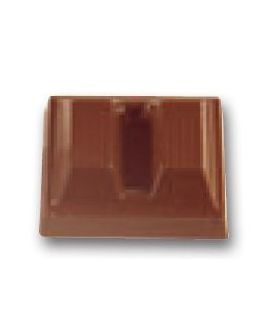 MOLDE TABLETA CHOCOLATE 40x33 H=16mm.5x4und.15gr